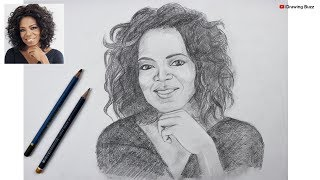 Gambar cover How to Draw Oprah step by step | Drawing Buzz
