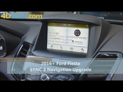 Add Factory Navigation to SYNC 3 | 2016 - 2017 Ford Fiesta