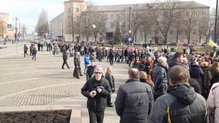 Кировоград встречает героя Евромайдана Виктора Чмиленко