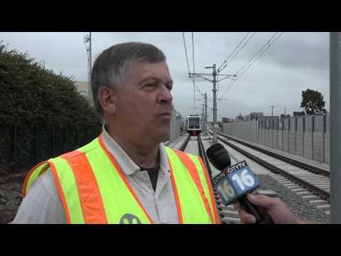 Santa Monica Expo Train Preview