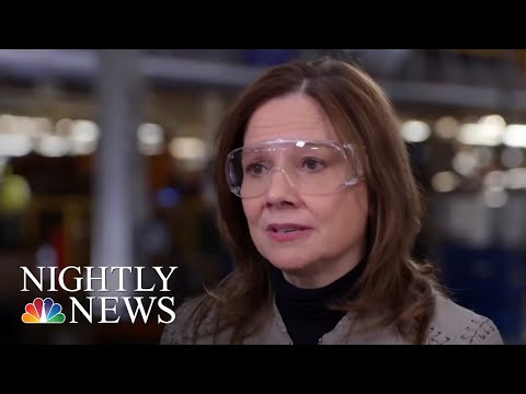 General Motors Announces $300 Million Investment, CEO Speaks Out To NBC News | NBC Nightly News