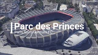 Paris Saint-Germain FC home stadium Parc des Princes
