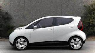Electric car Pininfarina Bluecar (B-zero)