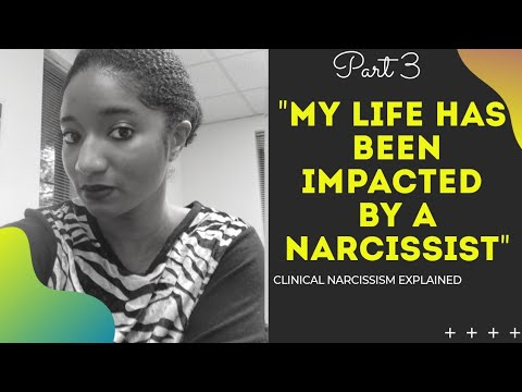 """""""My Life Has Been Impacted By A Narcissist"""" Clinical #Narcissism 