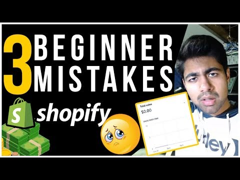 3 MAIN Things I Did That KILLED My Shopify Dropshipping Store (DON'T REPEAT THEM) thumbnail