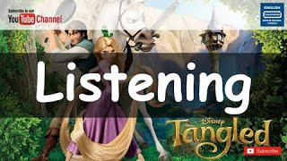Rapunzel#11 - Shadowing English, Funny english movies Listening toeic 미드공부 Grammar