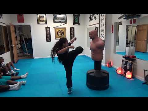 Kung Fu Kids - Reverse Hook Kick - Hook Kick Test