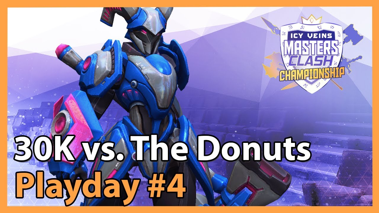 Donuts vs. 30K - MC - Heroes of the Storm Tournament 2021