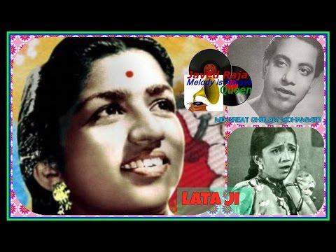 *.LATA JI~Film-DIL KI BASTI -(1949)~Un Se Hum Kuchh Kehte Kehte Reh Gaye-[ Best 78 RPM Audio ]