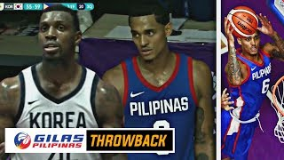 GILAS THROWBACK: Gilas Pilipinas vs South Korea / KAHIT SI JC NARANASAN ANG KOREAN CURSED 한국 농구