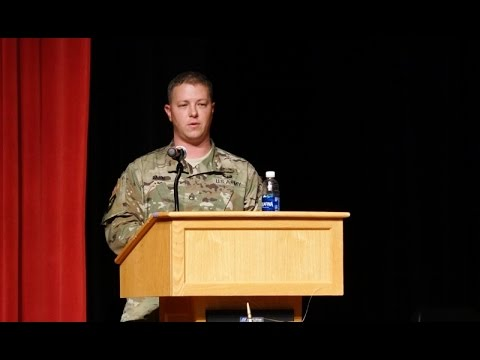 Muleshoe High School Veterans' Day Program 2016