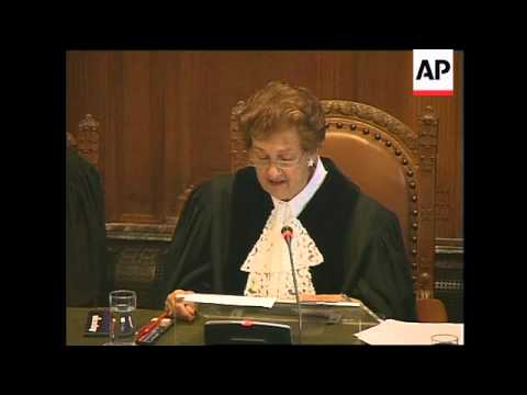 World Court orders US to halt executions of 5 Mexicans