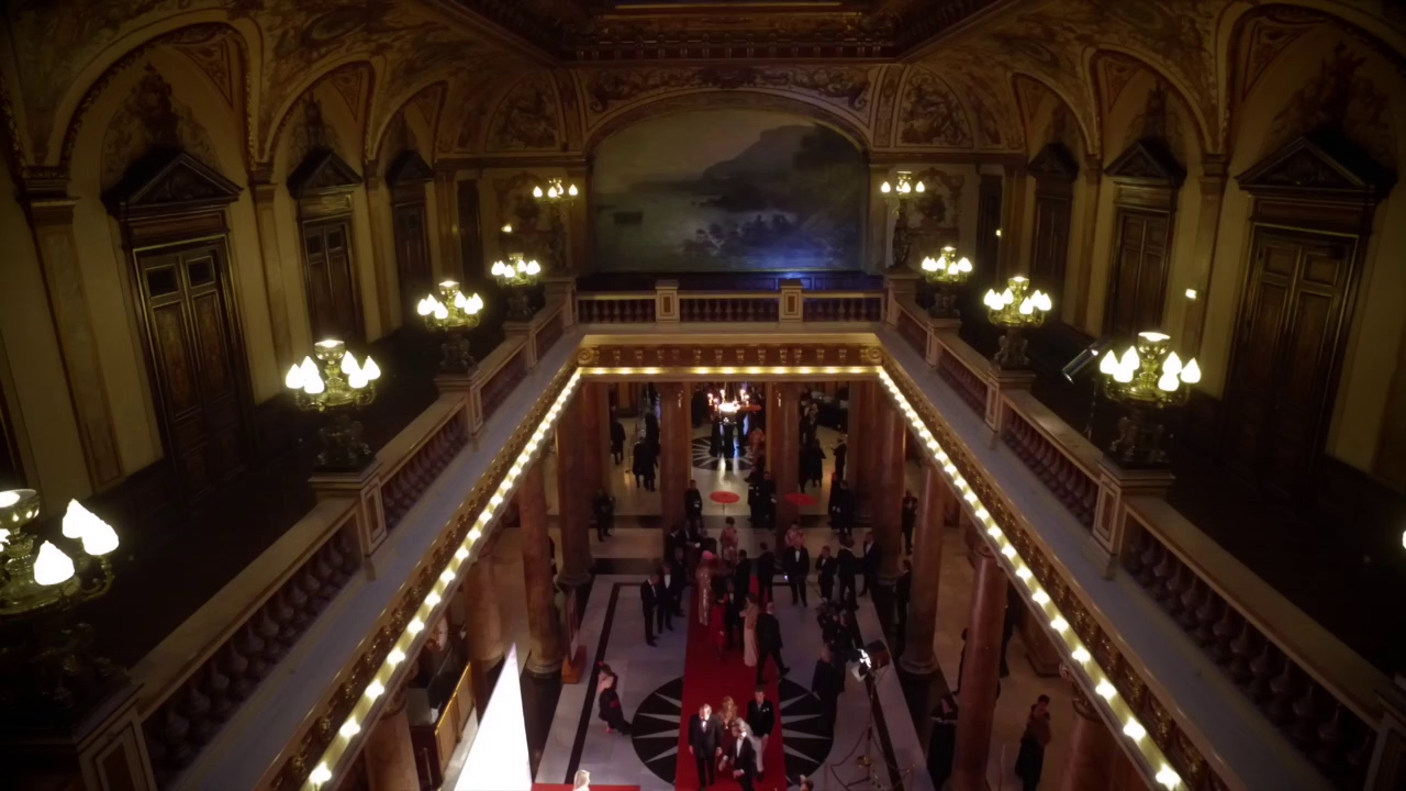 Download Surrealist Dinner Party by Charles Kaisin in the Casino de Monte-Carlo