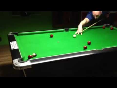 Is this the greatest skill shot in the history of blackball pool?