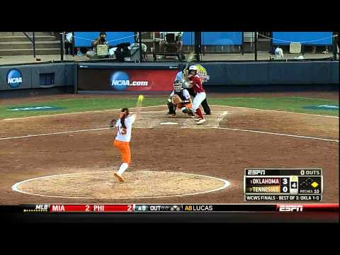 Softball National Championship Game 2: Lady Vols vs Oklahoma Highlights