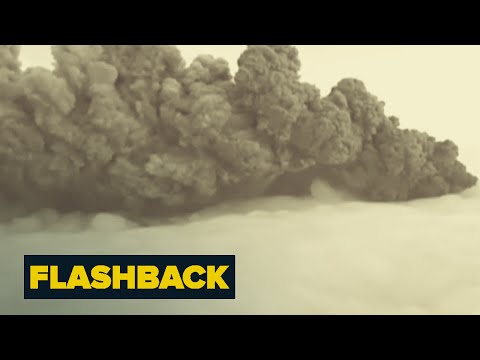 Iceland Eruption Disrupts Travel | Flashback | NBC News