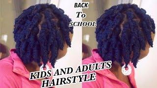 DIY | EASY SHORT BRAIDS WITH YARN/WOOL | Protective hair style | Short natural hair
