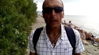 Дикий пляж Черное море Анапа22.07.16(Прогулка по берегу черного море., 2016-07-28T20:31:04.000Z)