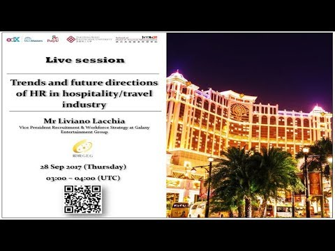 Trends and Future Directions of HR in Hospitality/Travel Industry (Live Session)