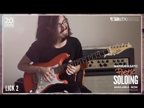 Mateus Asato's 20 Licks: Poetic Soloing