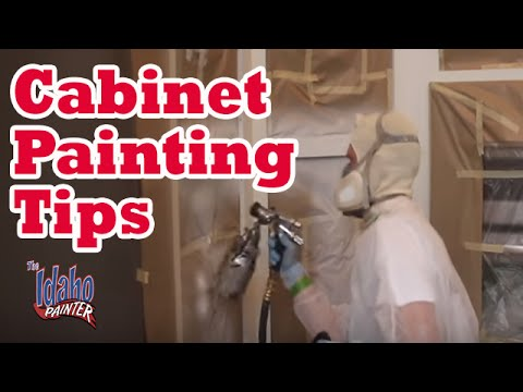 HOW TO PAINT KITCHEN CABINETS. cabinet painting tips. DIY ...