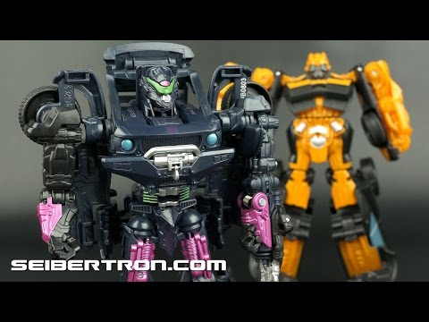 Power Attackers Chainsaw Thrash Vehicon and High Octane Bumblebee Transformers Age Of Extinction