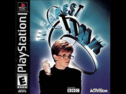 PlayStation Weakest Link ORIGINAL RUN Game #1 Redemption