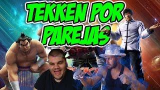 Tekken por parejas online con Trenzano | Law y Ganryu