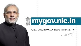 mygov.nic.in - Great Governance With Your Partnership