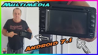 Installation  Multimédia Lecteur GPS Android 7.1.Din DVD