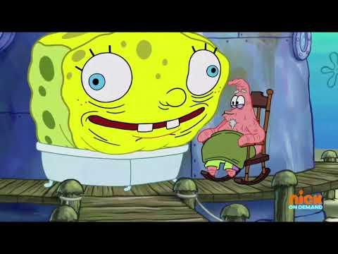 Spongebob Theme Reference in Old Man Patrick