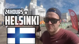 24 HOURS IN HELSINKI FINLAND