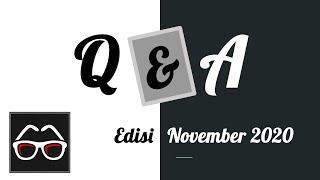 Q&A Edisi November 2020   Tanya Jawab   Channel YouTube Indonesia Belajar