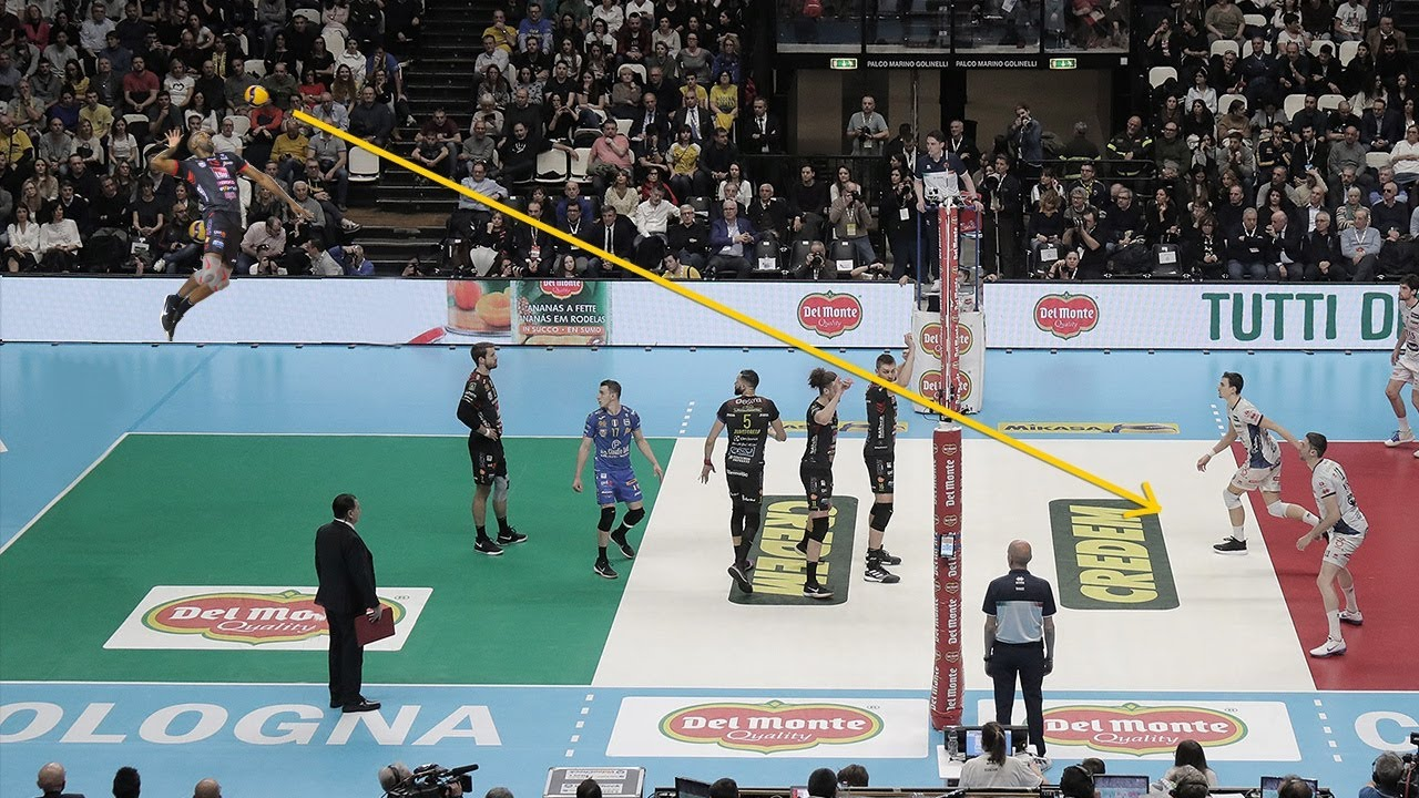 The Most Craziest  Volleyball Serves by Robertlandy Simon