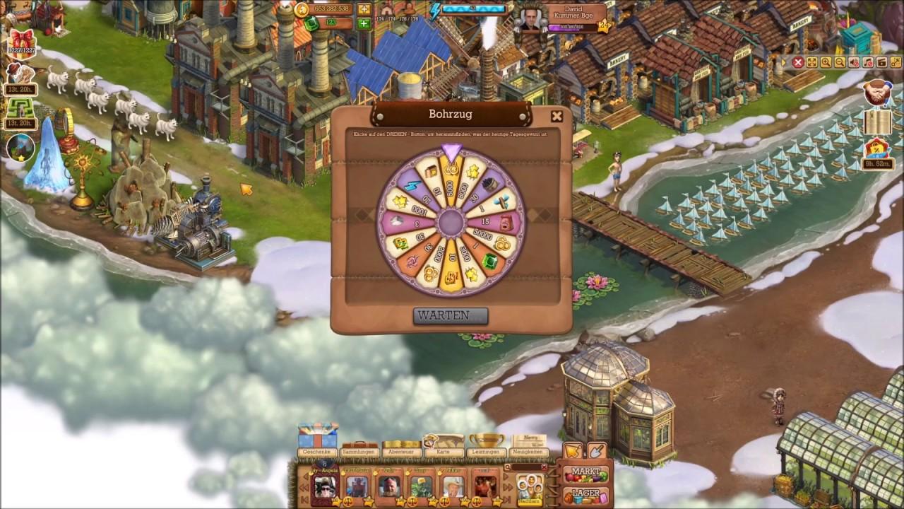 Klondike Browsergame