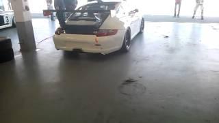 Porsche 911 GT3 Cup Start Up
