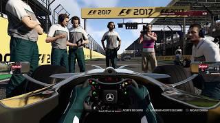 LIGA ZGT - F1 2017 PS4 - MONACO