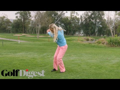 How to Get Out of a Wet Lie | Sexiest Shots in Golf