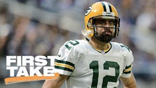 First Take debates whether hit on Aaron Rodgers was dirty | First Take | ESPN