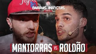Liga Knock Out / EarBox Apresentam: Mantorras vs Roldão (Barras Invictas)