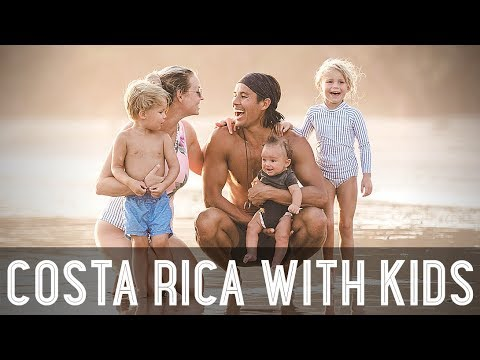 Surf Lessons for Kids in Costa Rica!! /// WEEK 109 : Costa Rica