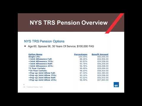 Financial Friday Webinar - Pension Maximization
