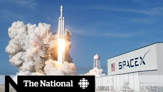 SpaceX launches most powerful rocket ever