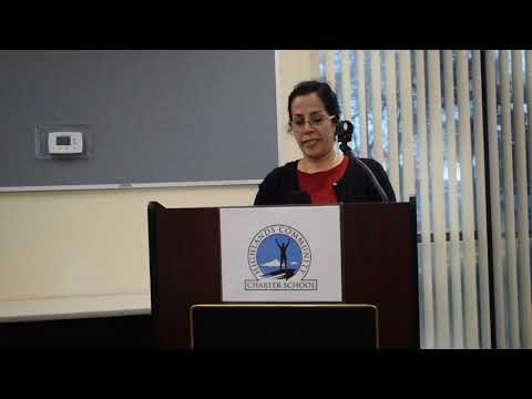 Highlands Community Charter School: Board Meeting Student Speech