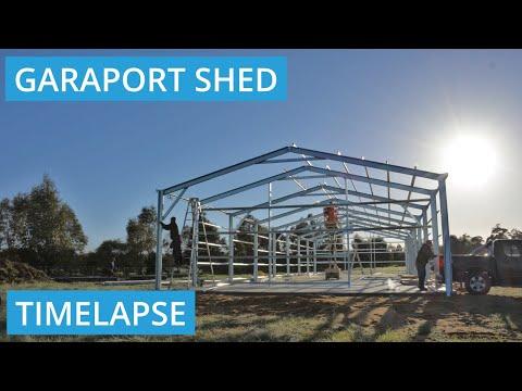 Roys Sheds Constructing Shed in Mundijong, WA 6123