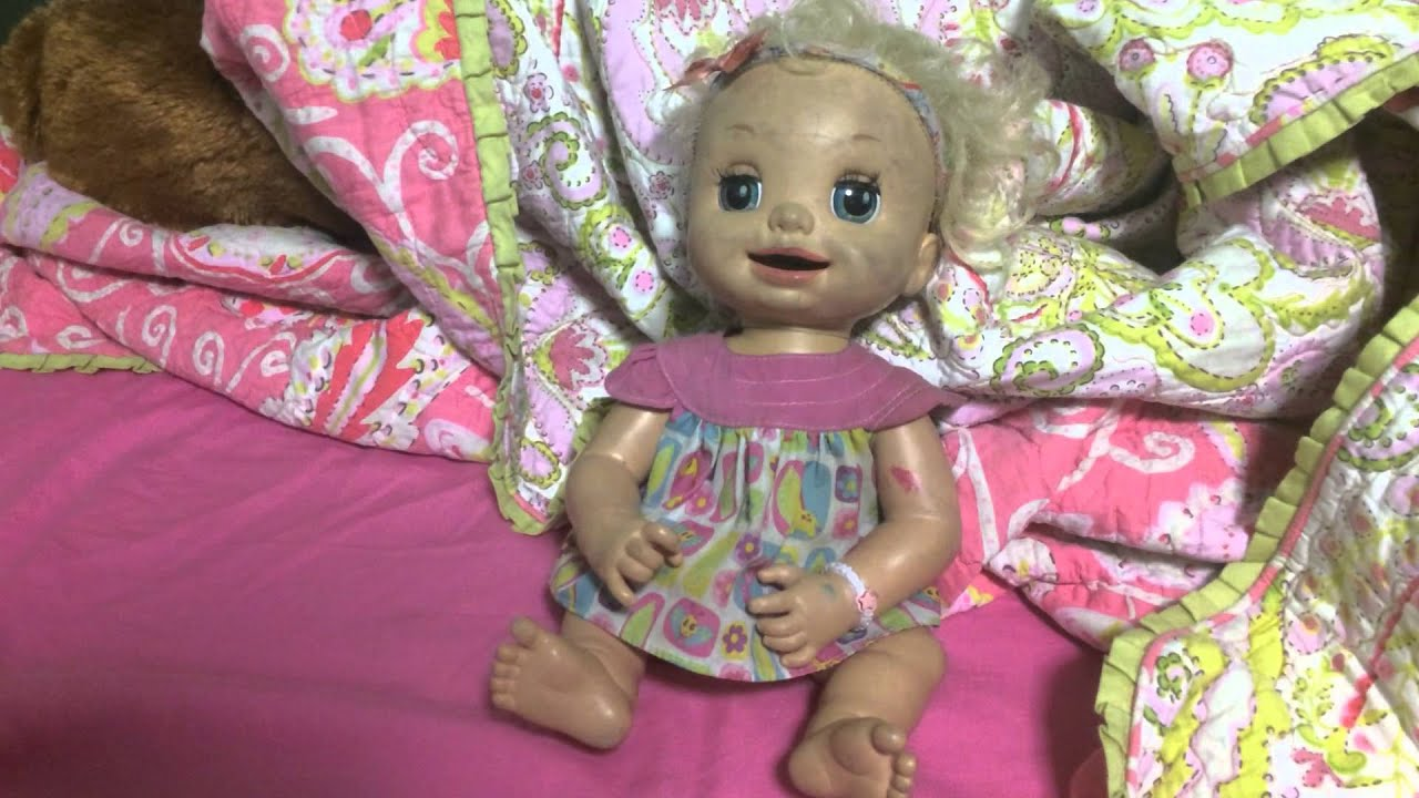 Original Baby Alive Learns To Potty Doll Youtube