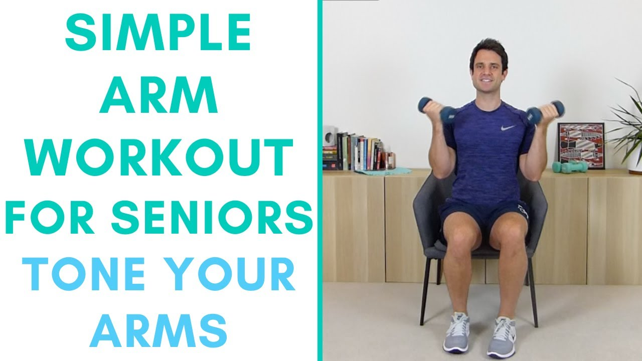 Arm Exercises For Seniors 3 Simple Exercises To Strengthen Your Arms More Life Health Youtube