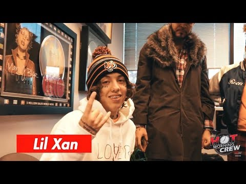 LIL XAN INTERVIEW WITH HOT MORNING CREW