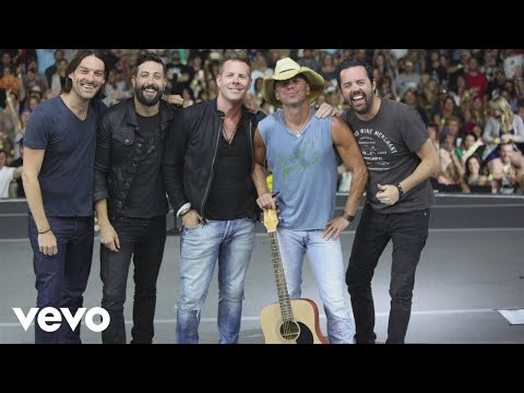 Kenny Chesney - Old Dominion - Guest on Live in No Shoes Nation