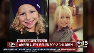 Amber Alert issued for two Arizona children